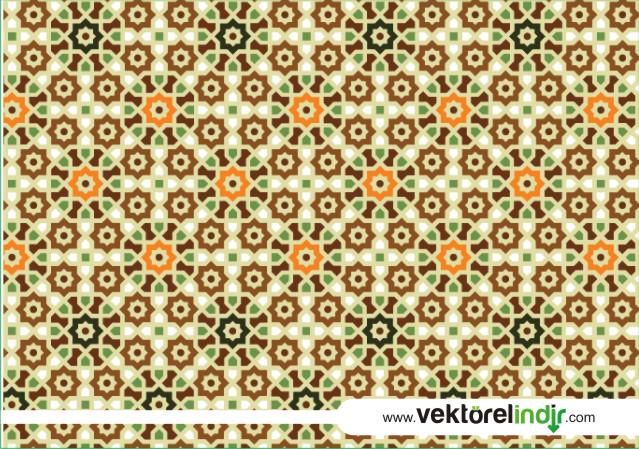 İslami Zemin, Duvar Kağıdı
