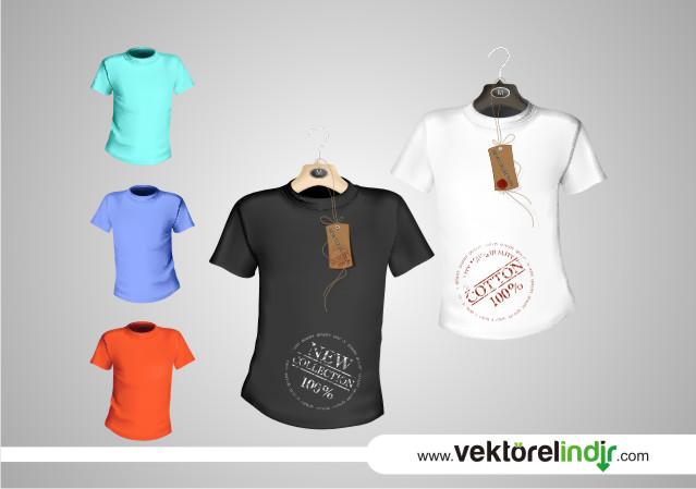 T-Shirt Vektörel