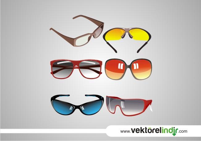 gözlük vektörel