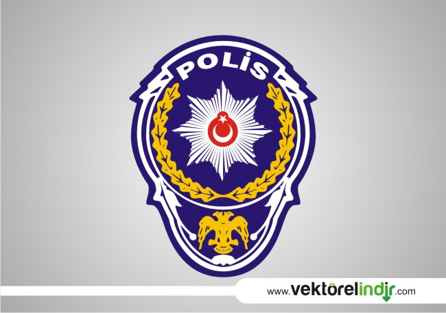 polis logosu vektörel