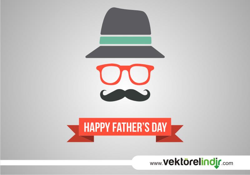 Şapka, Gözlük, Bıyık, Babalar Günü
