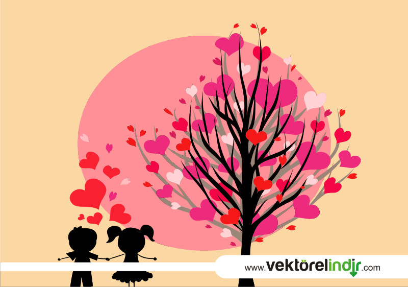Aşk, Çocuklar, Pembe Ağaç, Sevgi