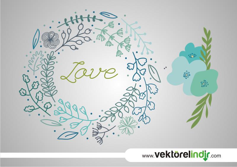 Aşk Yaprakları, Dal, Çiçek