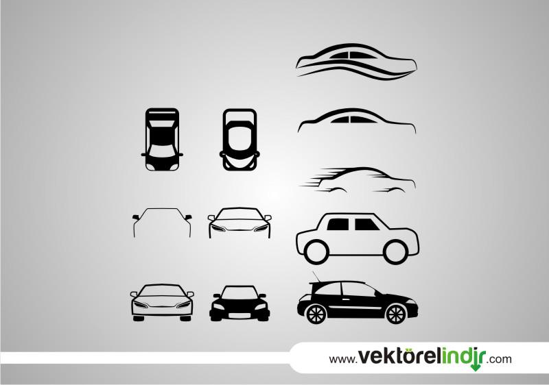 Araba Vektörü, Clipart, Logo