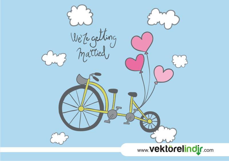 Bisiklet, Aşk, Tasarım, Gökyüzü, Uçmak