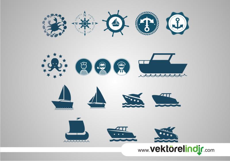 Gemici, Tekne, Deniz, Vapur, Yengeç, Pusula