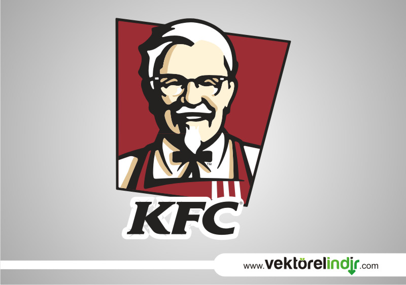 KFC Logo Çizim, Vektörel