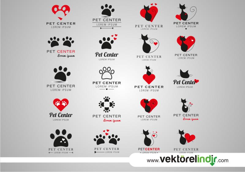 Kedi Logo, Kediler, Pati Logo