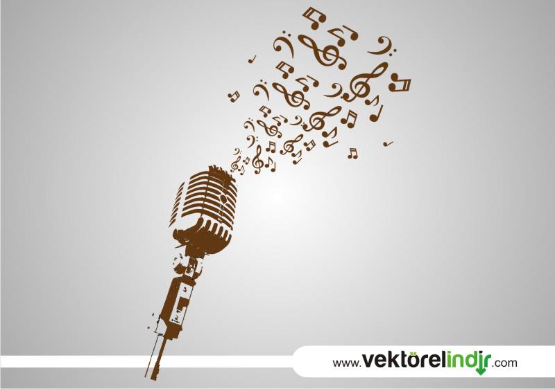 Mikrofon, Müzik, Şarkı