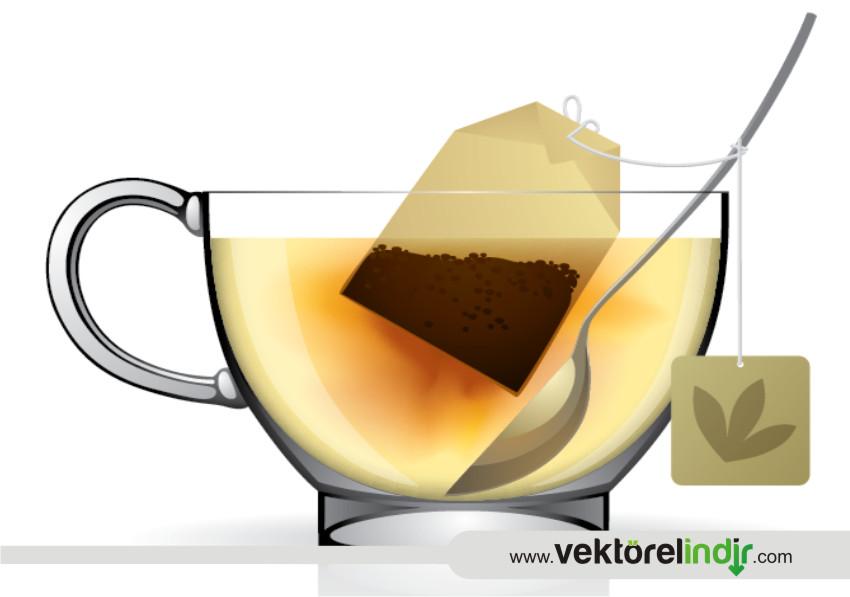 Vektörel Çay