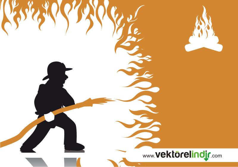 Yangın, İtfaiyeci, Alev, Ateş