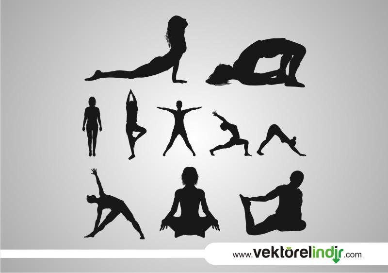 Yoga, Spor, Silület, Çizim