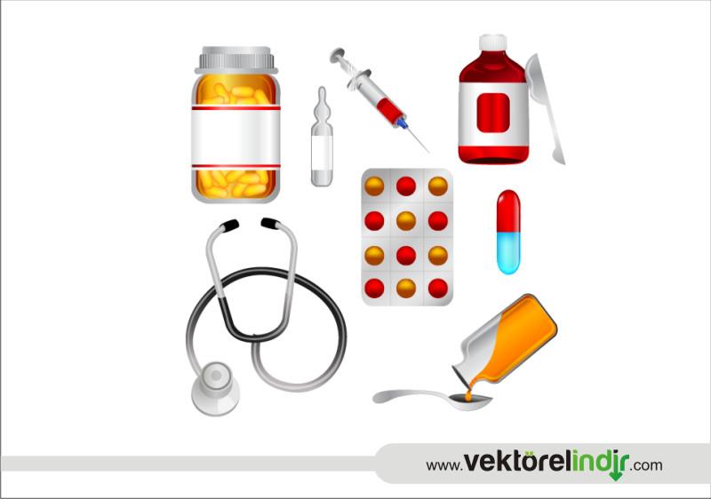 İlaç, Eczacı, Şırınga, İğne, Hap, Hasta