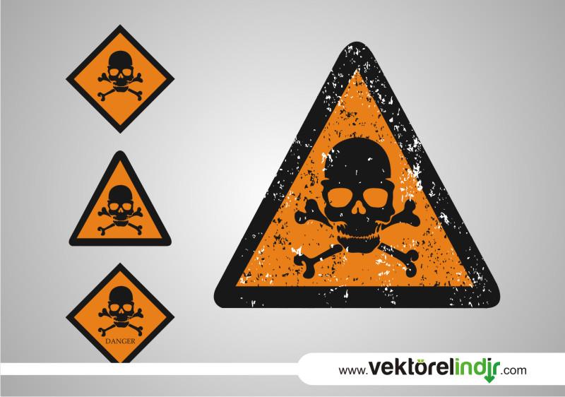 Danger, Ölüm Tehlikesi, Kurukafa