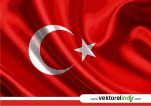 Türk Bayrağı vektörel, Bayrak Çizim