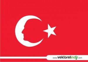 Atatürk Vektörel, Bayrak, Bayrak Çizim