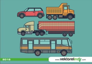 Araba, Kamyon, Otobüs