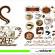 Kahve Vektörü, Caffee, Vektörel Çizim