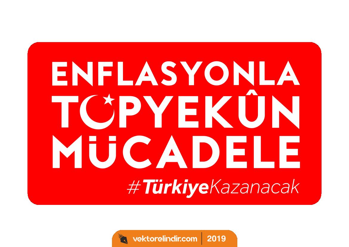 Enflasyonla Mücadele Logo, Amblem, Etiket_4