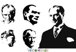 Mustafa Kemal Atatürk Silüetleri 2