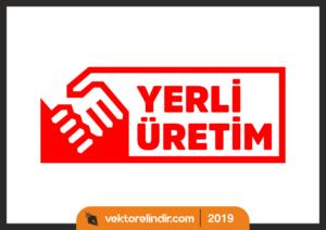 Yerli Üretim Logo, Vektörel, Türk Malı