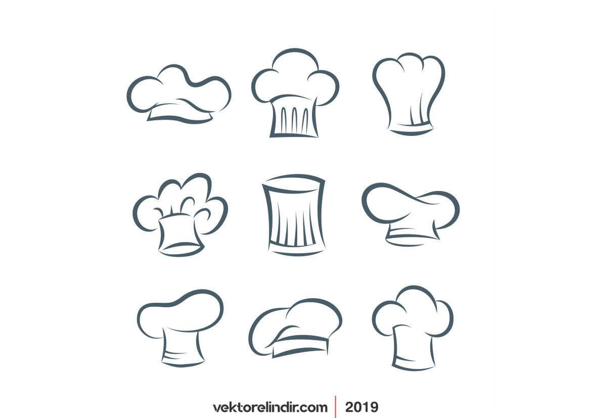 Aşçı Şef Şapkaları