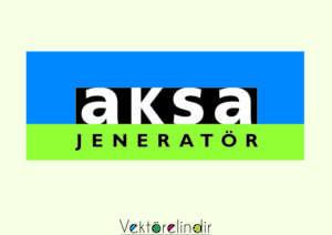 Aksa Jeneratör Logo Vektörel
