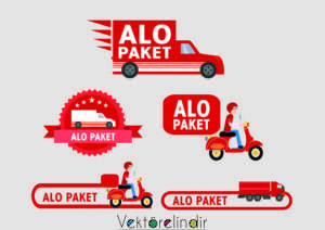 Alo Paket Vektörel, Alo Paket Motor Kuriye