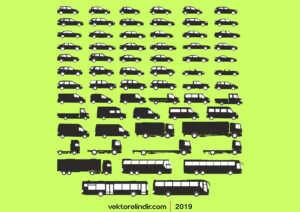 Araç Siluet, Araba Çizim, Araç Vektör