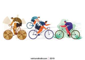Bisiklet, Yarışcı, Bisikletler