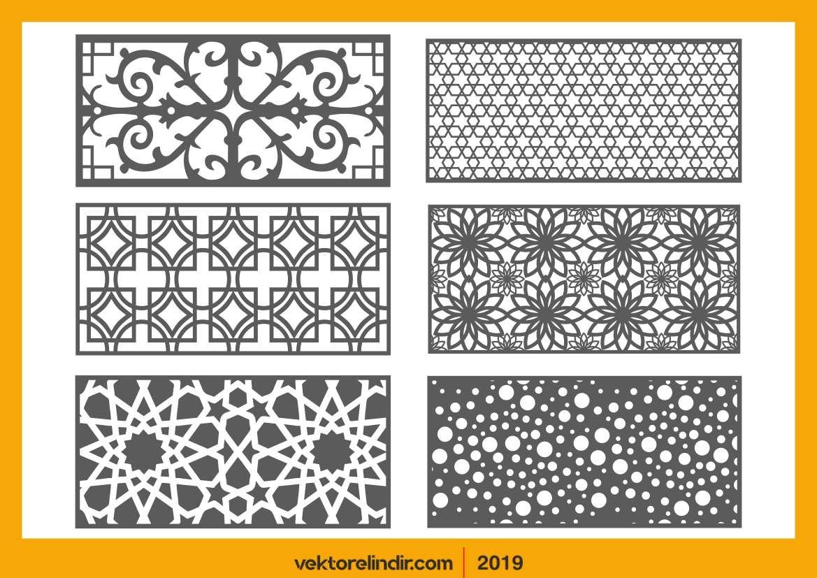 Cnc, Motif, Model, Osmanlı, Desenler