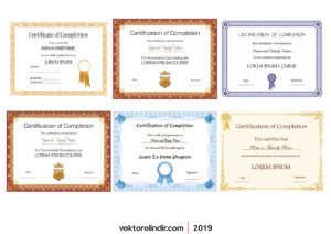 Diploma, Ödül, Sertifika, Taktir Belgesi