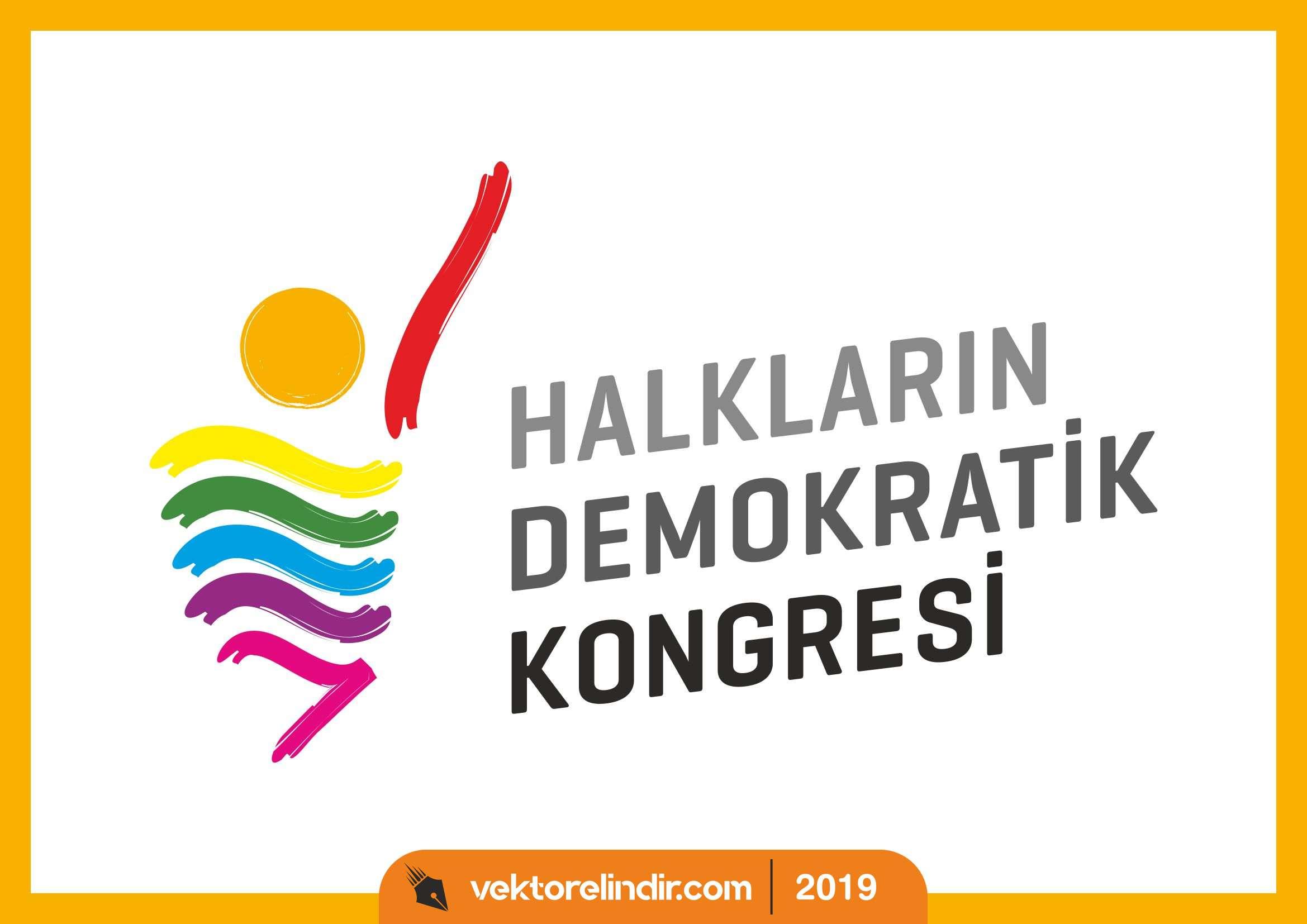 HDK, Halkların Demokratik Kongresi Logo Amblem