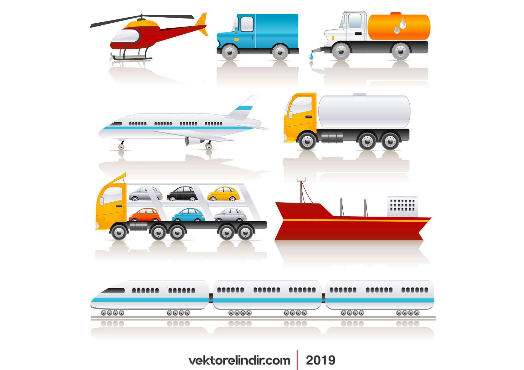 Helikopter, Gemi, Tren, Mikser