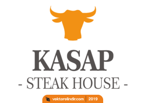 Kasap Steak House, Kasap Vektörel Logo