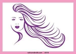 Kuaför Logo, Saç, Tasarım