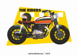 Motor, Yarışcı, Motorsiklet, Vektör