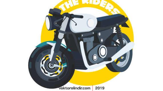 Motorsiklet, Vektörel, Motor, Yarışcı 2