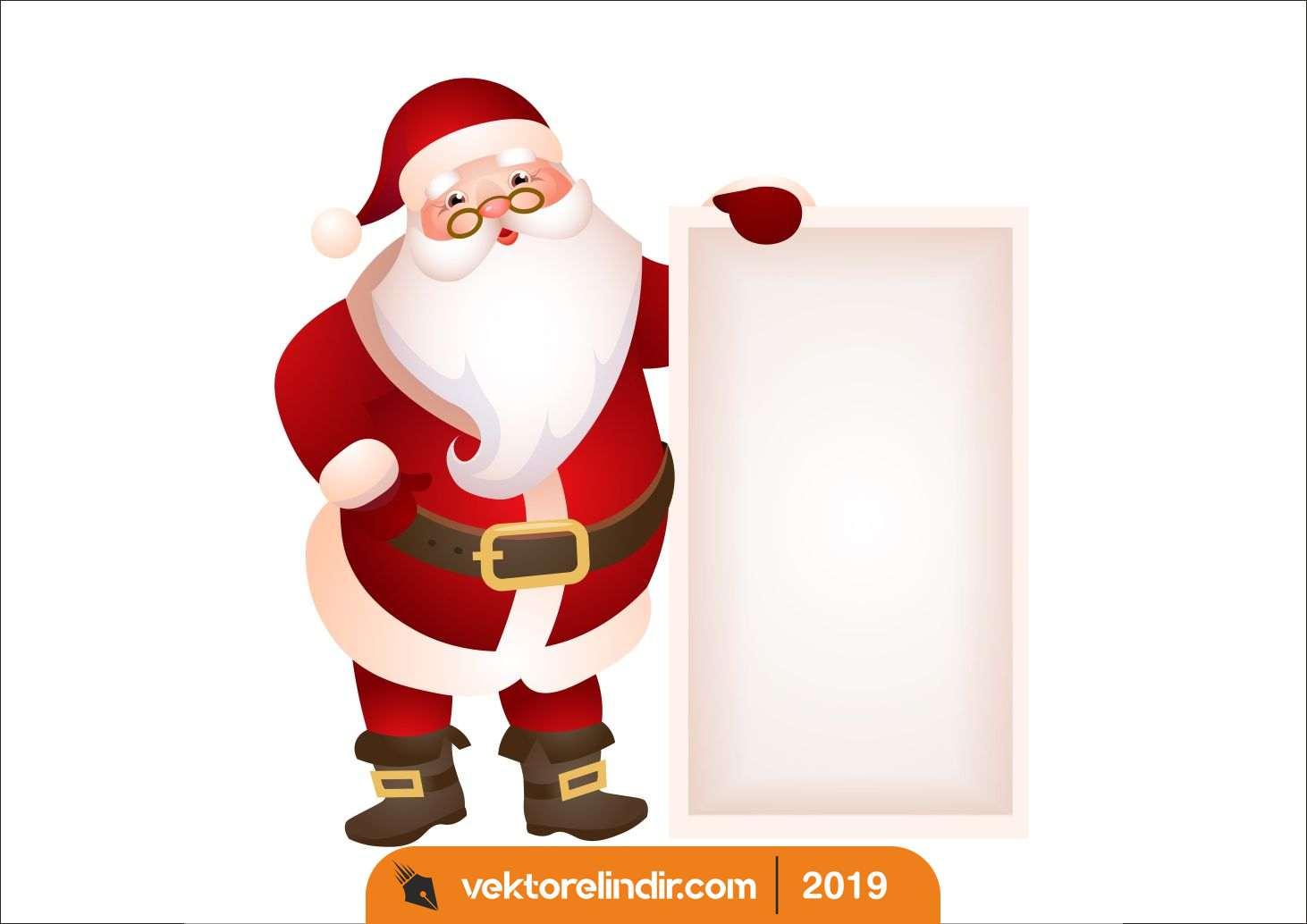 Noel Baba, Yılbaşı, Tabela