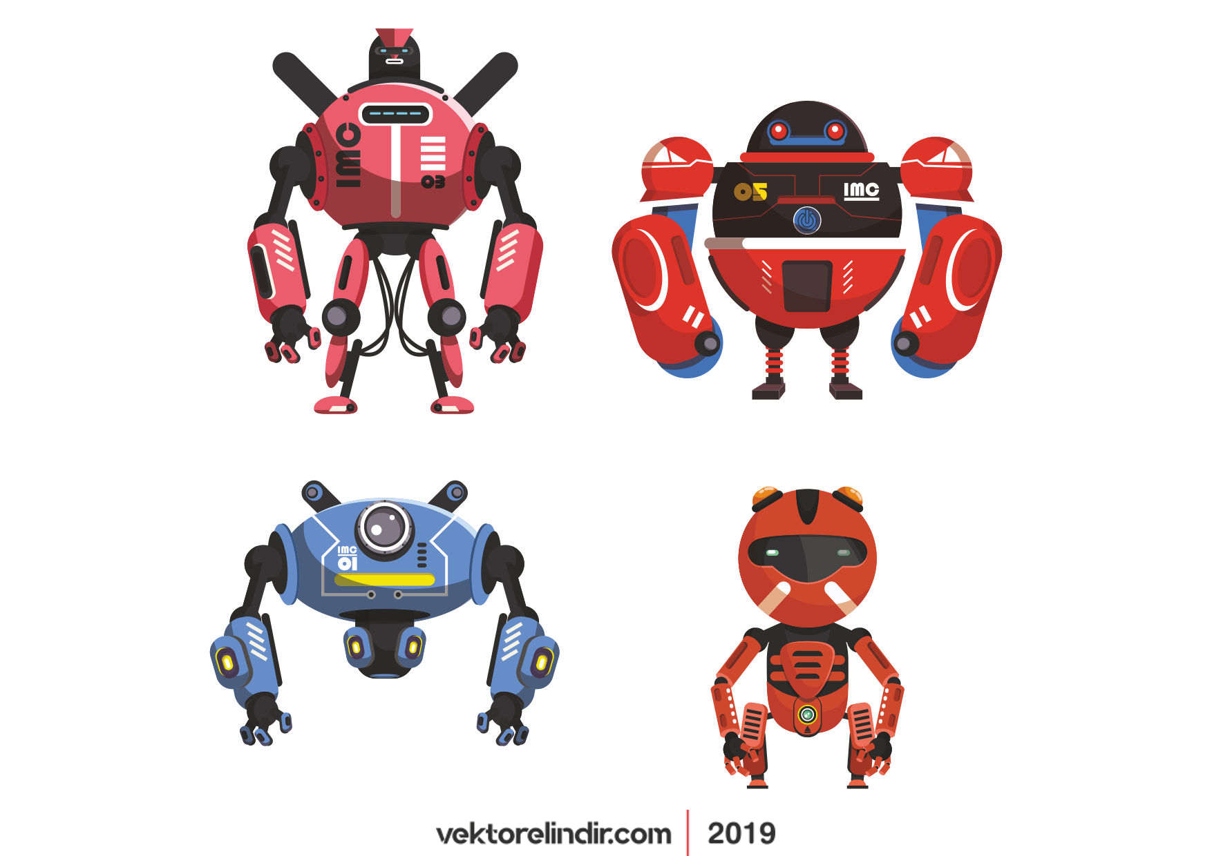 Robotlar, Mekanik, Elektronik
