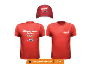 Chp 2019 Yerel Seçim, Şapka, TShirt