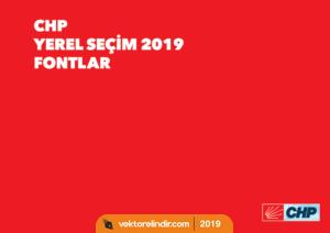 Chp 2019 Yerel Seçim Fontlar