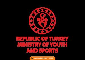 Gençlik ve Spor Bakanlığı Yeni Logo_Png_Ingilizce