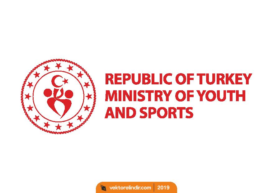 Gençlik ve Spor Bakanlığı Yeni Logo_Png_Ingilizce2