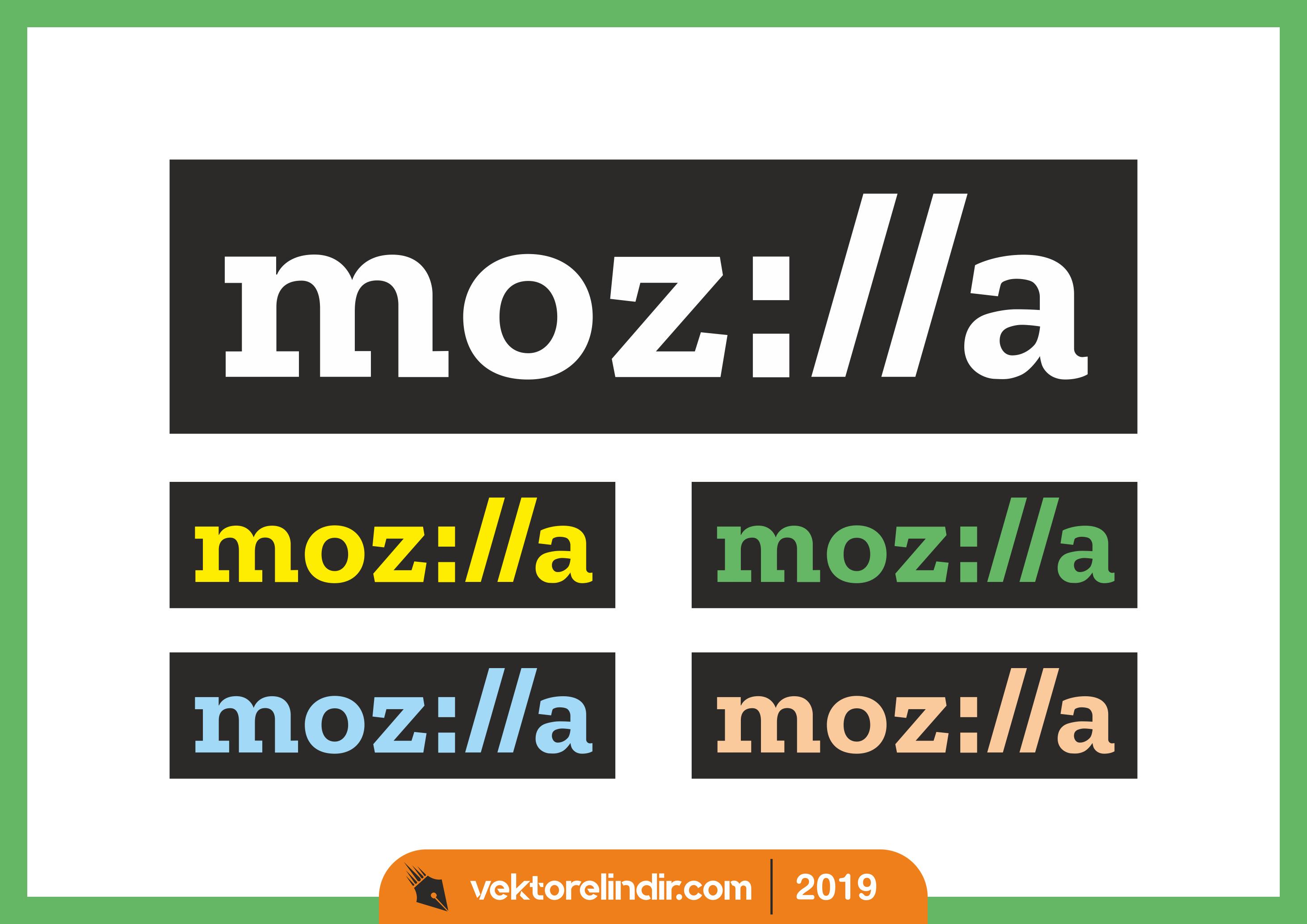 Mozilla Yeni Logo, Amblem