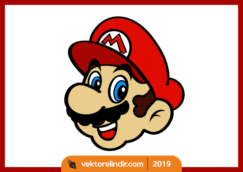 Super Mario Çizim, Vektör, Logo