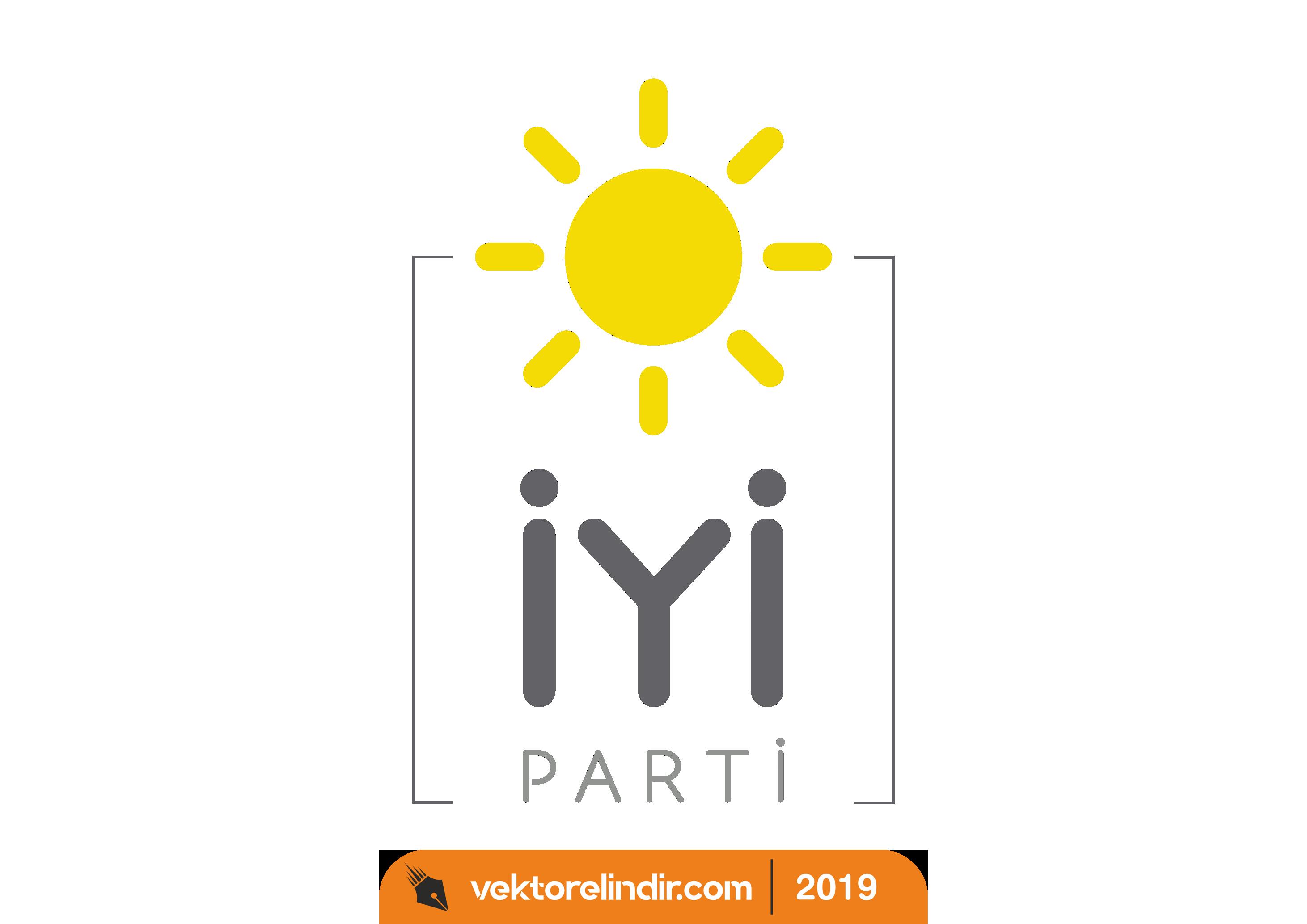 İyi Parti Amblem Logo Png, Vektörel