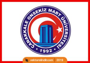 Çanakkale Onsekiz Mart Üniversitesi Logo