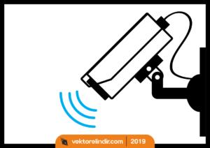 Güvenlik Kamerası Vektörel