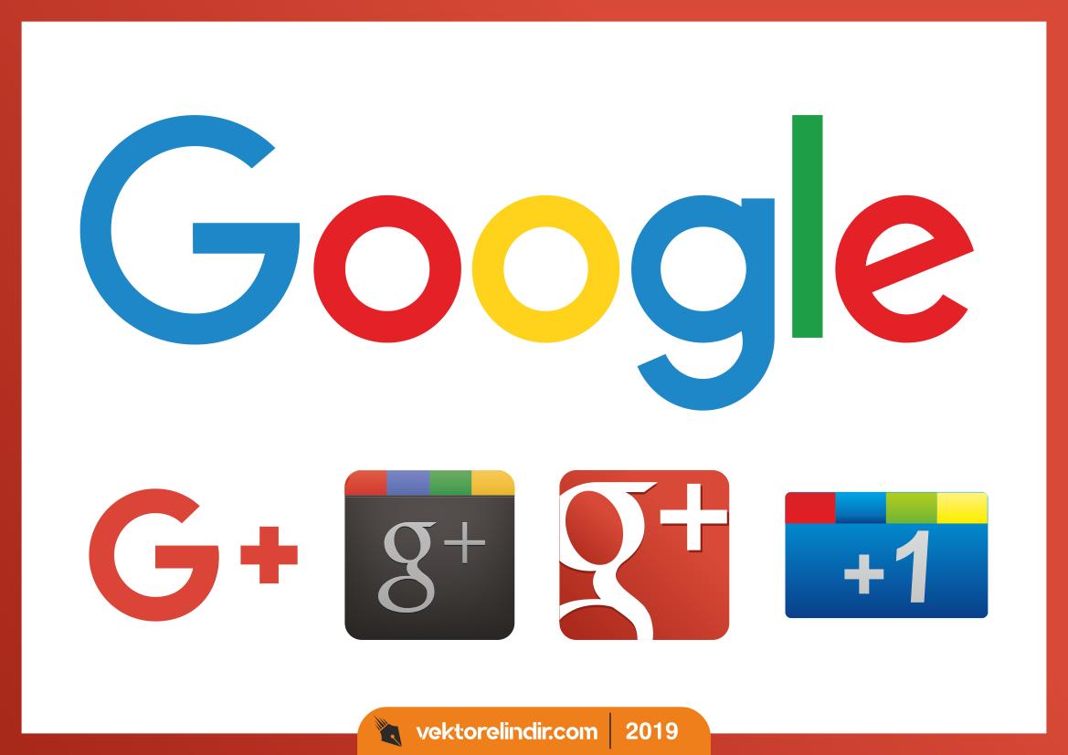 Google, Plus, +1 Logo, Vektör